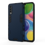 For Galaxy A71 3 in 1 Full Coverage Shockproof PC + TPU Case(Blue)