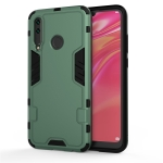 For HUAWEI P Smart Z (2019) / Y9 Prime (2019) 3 in 1 Full Coverage Shockproof PC + TPU Case(Dark Green)