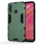 For Huawei 9X Premium 3 in 1 Full Coverage Shockproof PC + TPU Case(Dark Green)