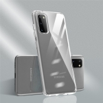 For Galaxy S20 Color Botton Ultra-thin Clear TPU Case(Transparent+Transparent)