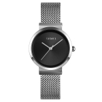 Skmei 1595 Fashion Elegant Scale Free Steel Mesh Belt Women's Watch Waterproof Business Student Quartz Watch Female(Silver)