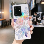 For Galaxy S20 Colorful Laser Flower Series IMD TPU Mobile Phone Case(Begonia Flowers KL2)