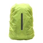 Outdoor Night Travel Safety Reflective Backpack Rain Cover Bag, Size:S(Fluorescent Green)