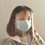 Anti-fume Transparent Face Mask for Cooking