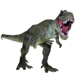 Large Solid Simulation T-Rex Dinosaur Toy Model