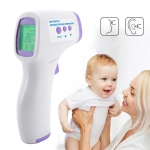 F2 Non-contact Forehead Body Infrared Thermometer (Purple)