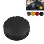 Gas Fuel Tank Filler Oil Cap Cover for Piaggio Scooter VESPA GTS GTV LX Series (Black)