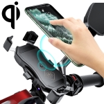 2 in 1 Motorcycle Wireless Charger + QC 3.0 USB Fast Charging Phone Holder