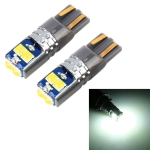 2 PCS T10 / W5W / 168 DC12-24V / 1.8W / 6000K / 140LM Car Clearance Light 4LEDs SMD-3030 Lamp Beads with Decoding & Constant Current