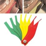 Car Brake Pad Scale Ruler Thickness Measuring Tool
