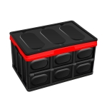 Car Storage Box Auto Multi-function Folding Organizer Box, Size: S (Black)