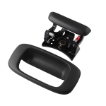 Car Tailgate Handle Trunk Lock Push Button and Bezel Trim Replacement 15997911 for Chevrolet GMC