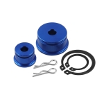 Car W1 Short Shifter + Base Bushings + Cable Bushings for Honda SI EP3 BLUE