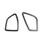 2 PCS Car Carbon Fiber Dashboard Air Outlet Decorative Sticker for BMW 3 Series F30 2013-2018 / 3GTSeries F34 2013-2017, Right Drive