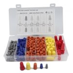 158 PCS Car Electrical Wire Nuts Crimp Wire Terminal Wire Connect Assortment Kit