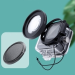 RUIGPRO for GoPro HERO8 Professional 58mm 16X Macro Lens Dive Housing Filter with Filter Adapter Ring & Lens Cap