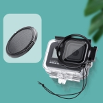 RUIGPRO for GoPro HERO8 58mm Filter Adapter Ring with Lens Cap
