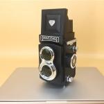 Non-Working Fake Dummy Handheld Retro DSLR Camera Model Photo Studio Props (Black)