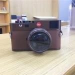 Non-Working Fake Dummy DSLR Camera Model Photo Studio Props for Leica M (Dark Coffee)
