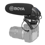 BOYA BY-BM3032 SLR Camera Phone Direct Plug Condenser Live Show Video Vlogging Recording Microphone