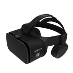 BOBOVR Z6 Virtual Reality 3D Video Glasses Suitable for 4.7-6.3 inch Smartphone with Bluetooth Headset (Black)