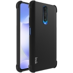 For Xiaomi Redmi K30 5G IMAK All Coverage Shockproof Airbag TPU Case(Metallic Black)