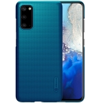 For Galaxy S20 / Galaxy S20 5G NILLKIN Frosted Concave-convex Texture PC Case(Blue)