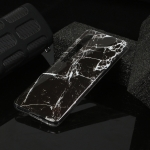 For Xiaomi Mi 10 Marble Pattern Soft TPU Protective Case(Black)