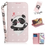 For Galaxy A70e 3D Painting Horizontal Flip Leather Case with Holder & Card Slot & Wallet & Lanyard(Caring bear)
