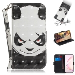 For Galaxy S10 Lite / A91 3D Painting Horizontal Flip Leather Case with Holder & Card Slot & Wallet & Lanyard(Angry bear)