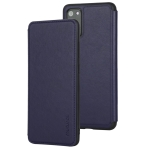 For Galaxy S20 Plus Mutural TPU + PU Protective Case(Blue)