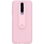 For Xiaomi Redmi K30 / K30 5G NILLKIN Black Mirror Series PC Camshield Full Coverage Dust-proof Scratch Resistant Mobile Phone Case(Pink)