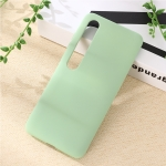 For Xiaomi Mi 10 Pro 5G Solid Color Liquid Silicone Shockproof Coverage Case(Green)