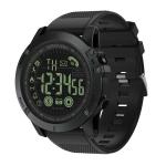 PR1-2 1.24 inch IP68 Waterproof Sport Smart Watch, Support Bluetooth / Sleep Monitor / Call Reminder(Black)