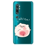 For Xiaomi CC9 Pro Lucency Painted TPU Protective(Hit The Face Pig)
