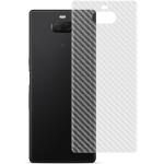 For Sony Xperia 10 IMAK Carbon Fiber Pattern PVC Back Protective Film