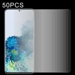 For Galaxy S20 50 PCS 0.26mm 9H 2.5D Explosion-proof Non-full Screen Tempered Glass Film