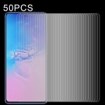 For Galaxy S10 Lite 50 PCS 0.26mm 9H 2.5D Explosion-proof Non-full Screen Tempered Glass Film