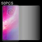 For Motorola One Hyper 50 PCS 0.26mm 9H 2.5D Explosion-proof Non-full Screen Tempered Glass Film