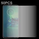 For Motorola Moto G8 Plus 50 PCS 0.26mm 9H 2.5D Explosion-proof Non-full Screen Tempered Glass Film