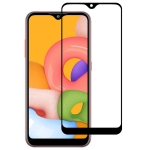 For Galaxy A01 Full Glue Full Cover Screen Protector Tempered Glass Film