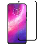 For Motorola One Hyper Full Glue Full Cover Screen Protector Tempered Glass Film