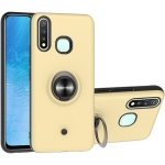 For Vivo Y19 & Y5s 2 In 1 PC + TPU Protective Case with 360 Degrees Rotating Ring Holder(Gold)