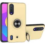 For Xiaomi Mi CC9 & A3 Lite 2 In 1 PC + TPU Protective Case with 360 Degrees Rotating Ring Holder(Gold)