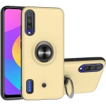 For Xiaomi Mi CC9e & A3 2 In 1 PC + TPU Protective Case with 360 Degrees Rotating Ring Holder(Gold)