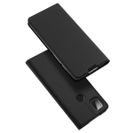 For Google Pixel 4a DUX DUCIS Skin Pro Series Horizontal Flip PU + TPU Leather Case, with Holder & Card Slots(Black)