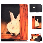 For iPad Pro 11 2020 Electric Pressed TPU Left and Right Open Flat Leather Case with Sleep Function & Card Buckle Anti-skid Strip(Bugs Bunny)