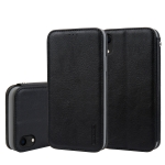 For iPhone XS Max CMai2 Cloud Skin Series Horizontal Flip Leather Case with Holder & Card Slots(Black)