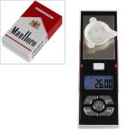 BOH-JS Mini Portable Jewelry Scale Precision Electronic Digital Pocket Scales, Specification: 200g/0.01g