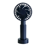 LLD-23 1.3-4.7W Portable 3 Speed Control USB Charging Multi-dimensional Telescopic Mute Fan (Blue)